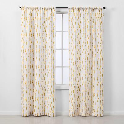 2pc Vines Light Filtering Window Curtain Panels - Project 62™