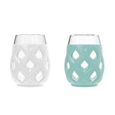 Ello Cru 2pk 17oz Wine Glass Gift Set