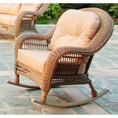 5pc outdoor conversation set with rocking chairs w unlimited