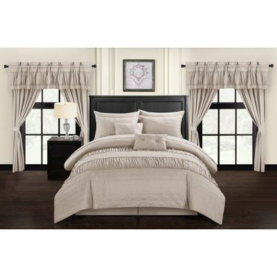 Tinos Bed in A Bag Comforter Set - Chic Home