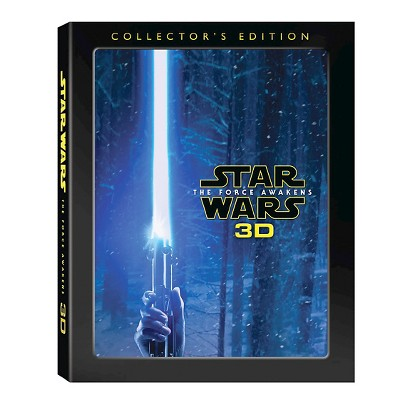 Star Wars: The Force Awakens (4 disk) (3D Blu-ray + Blu-ray + DVD + Digital)