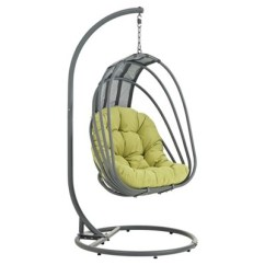Swing Chair Drawing Wooden Swivel Whisk Outdoor Patio Modway Target
