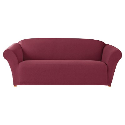 Stretch Twill Sofa Slipcover - Sure Fit