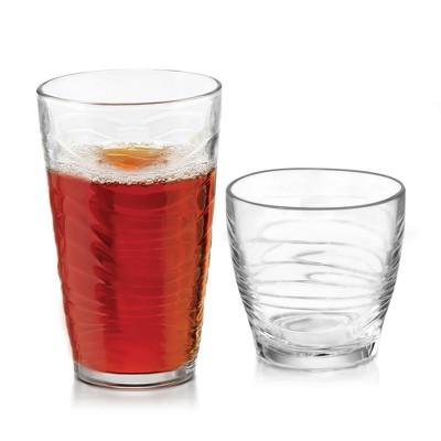 Libbey Orbita Glass 16pc Drinkware Set