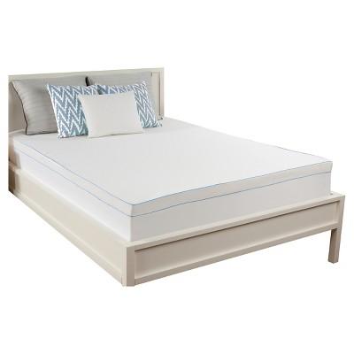 Comfort Revolution Mattress Topper Cover - White