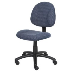 Posture Deluxe Chair Inflatable Soccer Ball Blue Boss Office Products Target