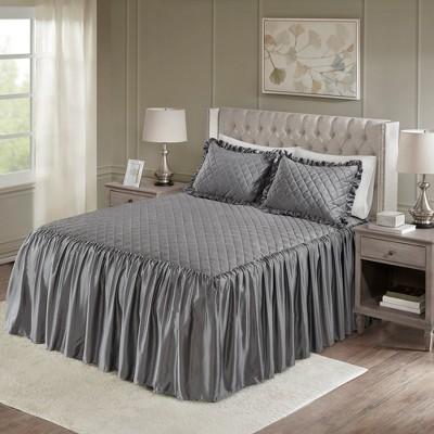 Kiana Velvet Bedspread Set  3pc