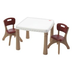 Step 2 Chair Cheap Patio Cushions Step2 Lifestyle Dining Room Table And Chairs Set Target