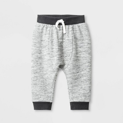 Baby Boys' Knit French Terry Jogger - Cat & Jack™ Gray