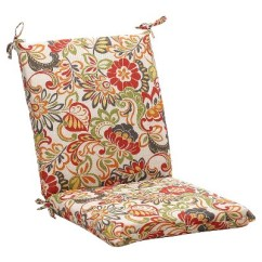 Green Chair Cushions Intex Inflatable Pull Out Review Outdoor Cushion Off White Red Floral Target About This Item