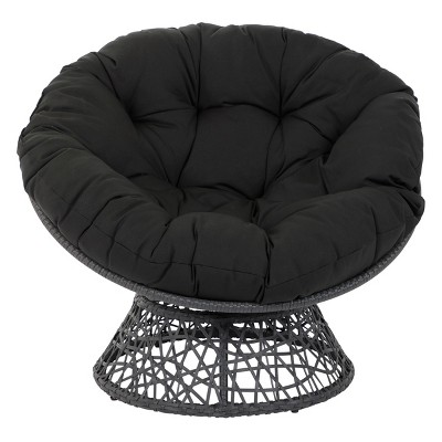 folding papasan chair target faux leather club and ottoman osp designs