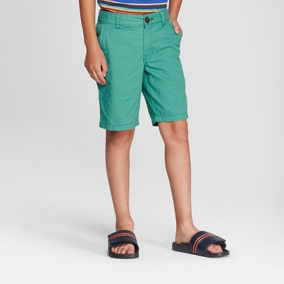 Boys' Chino Shorts - Cat & Jack™ Green
