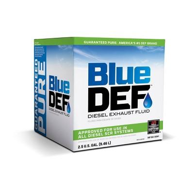 blue def 2 5gal diesel exhaust fluid