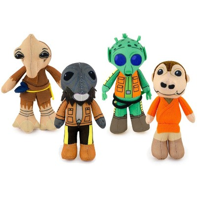 Star Wars Exclusive Mos Eisley's Cantina Villains Plush 4 Pack