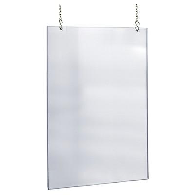 azar 24 x 36 acrylic hanging poster frame