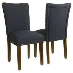 Parson Chairs Cheap Ashley Dining Classic Parsons Chair With Nailhead Trim Set Of 2 Homepop Target