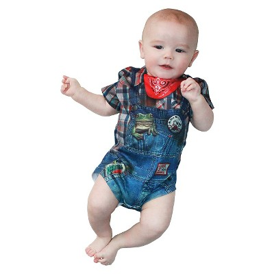 Kids' Baby Hillbilly Romper Costume