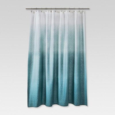 Ombre Shower Curtain Teal - Threshold™