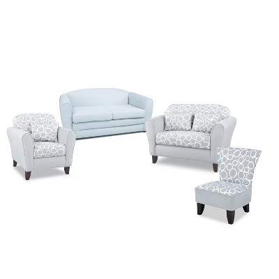 Freehand Storm Twill with Pebbles Tween Furniture Collection - Kangaroo