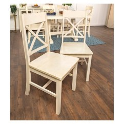 Antique White Dining Chairs Lazy Boy Chair Covers Walmart Set Of 2 Saracina Home Target