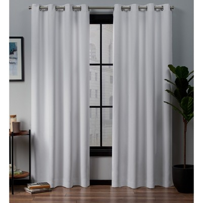 Academy Total Blackout Grommet Top Curtain Panel Pair - Exclusive Home
