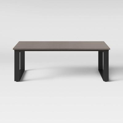 kipp platform patio coffee table brown project 62