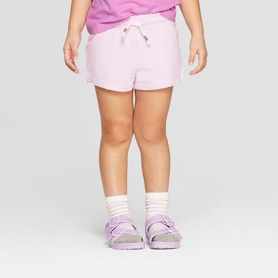 Toddler Girls' Straight Pull-On Shorts - Cat & Jack™ Purple