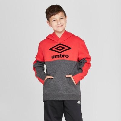 Umbro Boys' Fleece Pullover Hoodie