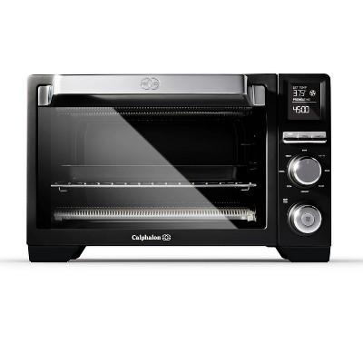 calphalon precision control air fryer toaster oven black