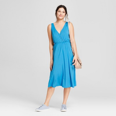 Women's Knit Wrap Dress - A New Day™