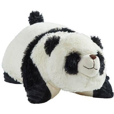 comfy panda small plush pillow pets