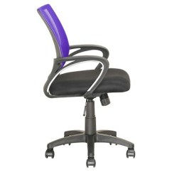 Lilac Office Chair Classic Dining Chairs Workspace Mesh Back Purple Corliving Target