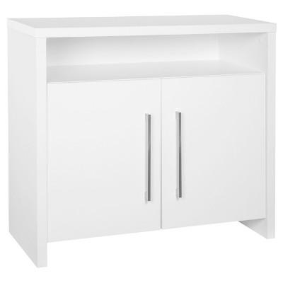 2-Door File Cabinet - White - ClosetMaid