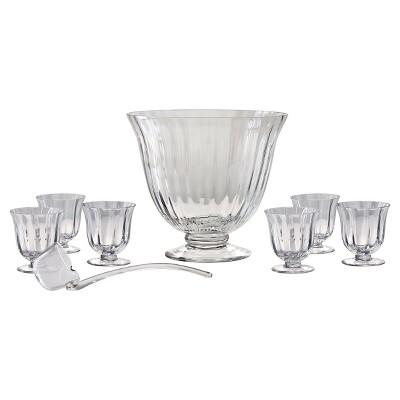 Artland® Aspen 8pc Punch Bowl and Glasses Set