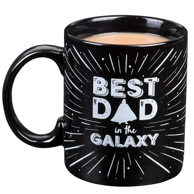 "Star Wars Vader ""Best Dad in the Galaxy"" 11oz Father's Day Ceramic Coffee Mug"