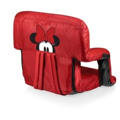 Minnie Mouse Recliner Chair Eames Molded Plywood Dining Replica Picnic Time Disney Ventura Portable Reclining Stadium Seat Red Target