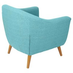 Teal Accent Chair Slingback Patio Chairs Canada Lumisource Rockwell Target