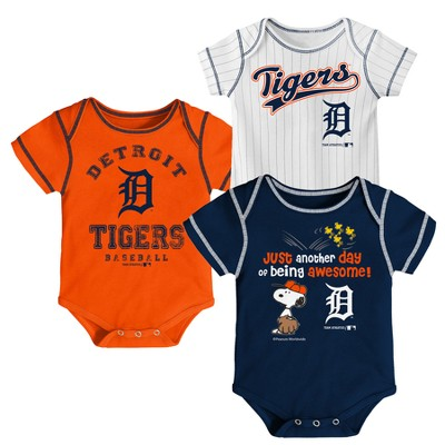 MLB Baby Boys' 3pk Short Sleeve Bodysuits