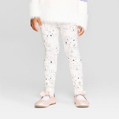 Toddler Girls' 'Blush Bears' Leggings - Cat & Jack™ Light Pink