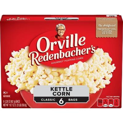 orville redenbacher s microwave kettle korn 6ct