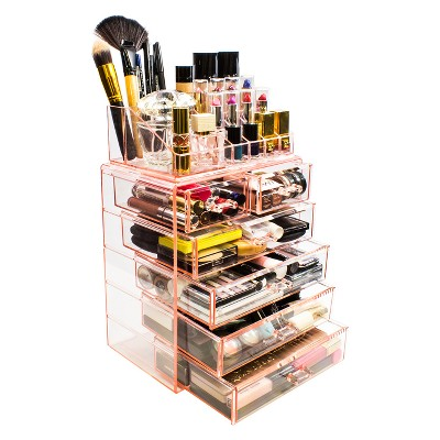 Sorbus Cosmetic Makeup and Jewelry Storage Case Display - Spacious Design (4 Large - 2 Small Drawers)