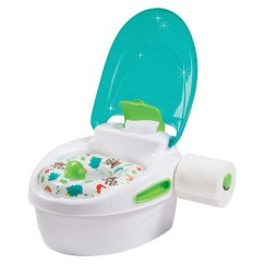 Summer Potty Chair Sitting Infant 3 Stage Trainer White Blue Target