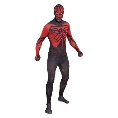 Men's Star Wars Darth Maul Second Skin Halloween Costume