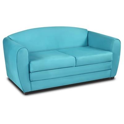 kangaroo tween sleeper sofa lignet roset sofa-sleeper - sky blue trading co. : target