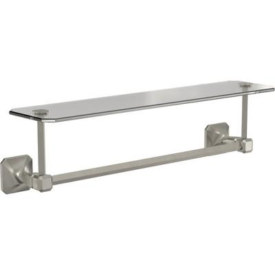 "Franklin Brass Napier 20-3/8"" Towel Rack with Integrated Towel Bar"
