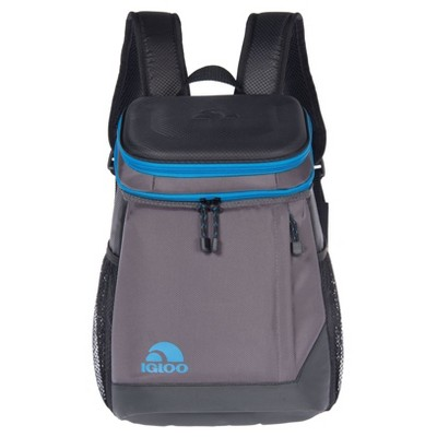 Igloo MaxCold Maxpack 18 Can Backpack Cooler - Black