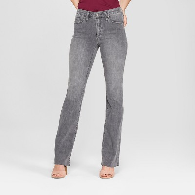 Women's High-Rise Flare Jeans - Universal Thread™ Gray Wash