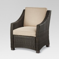 Target Club Chair Value City Dining Chairs Belvedere Wicker Patio Threshold