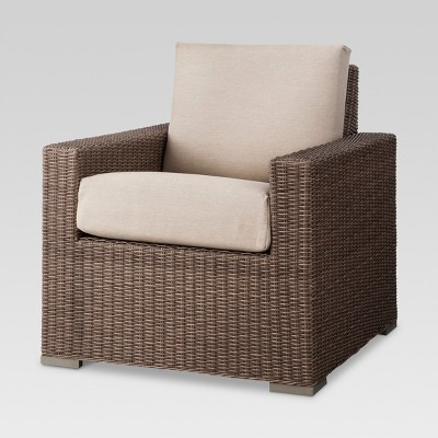 target club chair how to make chairs heatherstone wicker patio threshold