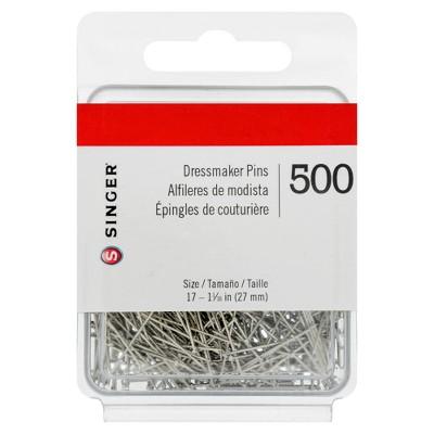 Singer Dress Maker Pins - 500ct